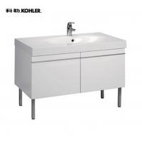 金秋·科勒产品推荐:科勒派丽德含台盆浴室柜
