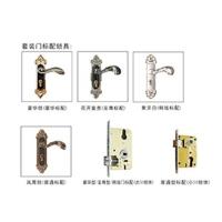一帆门业-套装门-配件系列套装门标配锁具