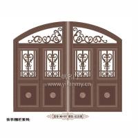 一帆门业-大门-围墙大门系列WQ-007-红古铜