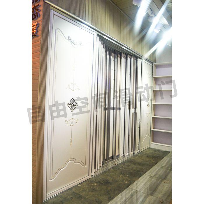 南京衣柜门展厅样板间-南京自由空间滑动门