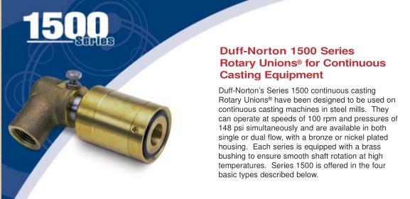DUFF-Norton1500旋转接头