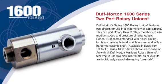 DUFF-Norton1600旋转接头