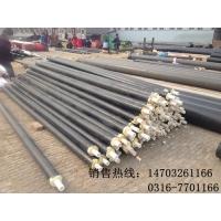 螺旋钢管聚氨酯保温管规格