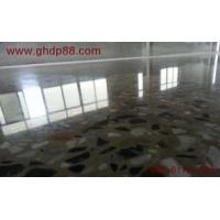 水磨石地面固化地坪|多功能无尘固化地坪