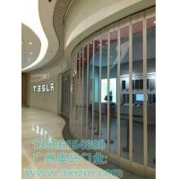 广州水晶折叠门,侧向水晶推拉折叠门,奥兴门业
