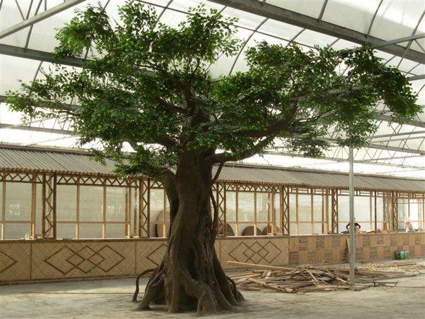 广州庆缘景观包柱子仿真古榕树