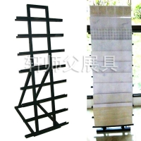 300X600腰线砖摆放架 条形木地板展示架 地脚线马赛克瓷