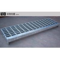 楼梯专用铁格栅格栅板-楼梯钢格板