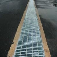 热镀锌排水沟盖板,排水用钢格栅