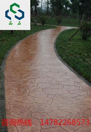 彩色压膜地坪,路面铺装材料工程承包施工