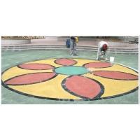 品石彩色透水性混凝土地坪系统