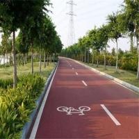 自行车道生态透水地坪-PCL65透水地坪图