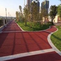 盐城彩色混凝土制品图-pcl32铺装品石彩色地坪