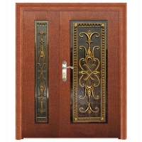 铝雕板门--金属门