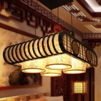 郑州中式灯CM-64104-4中式吊灯洲峰照明