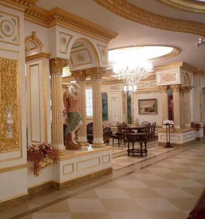 和业装饰玻璃钢定制防腐高性能华丽外观玻璃钢罗马柱