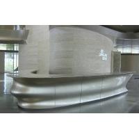 和业玻璃钢定制吧台 防火防腐华丽外表 玻璃钢前台
