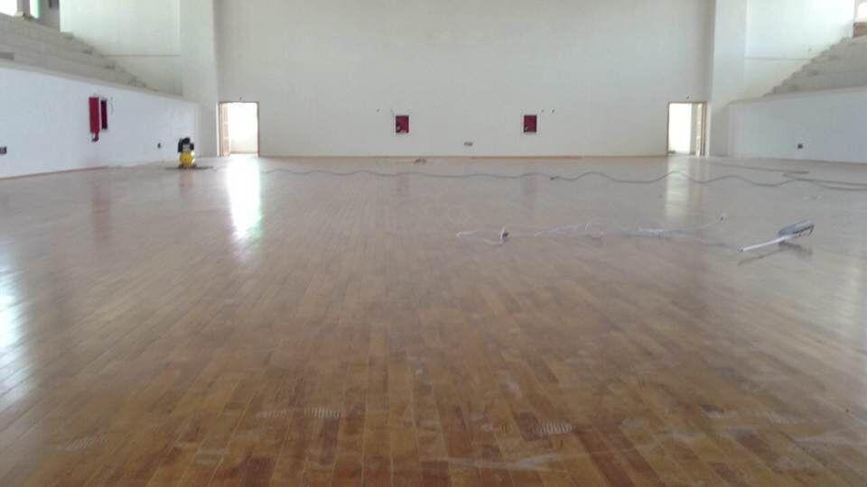 山东羽毛球木地板 山东大学体育馆篮球木地板
