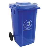 批发塑料环卫垃圾桶南京120L户外垃圾桶苏