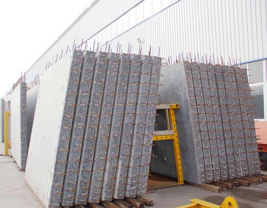 预制混凝土内墙板pc构件 装配整体式框架填充轻质内墙板图片