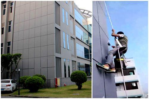 承包东莞厚街厂房外墙翻新工程 外墙涂料环保节能