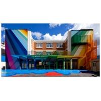 汕头幼儿园彩色外墙漆,环保弹性防水抗碱外墙涂料