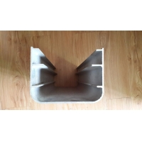 开口u型铝型材