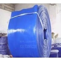 蓝水带涂塑农用蓝水带防冻蓝色输水带