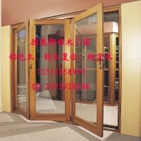 天津铝木复合折叠门 别墅门窗 德奥斯专业