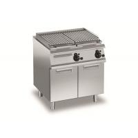 百年五星厨具供应电力火山石烧烤炉连底柜AVEGV77