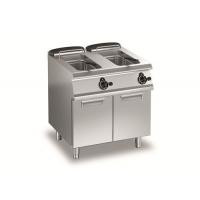 百年五星厨具供应电力双缸炸炉连柜AVEF77