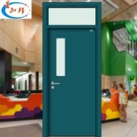 佛山厂家钢质复合门学校专用门镀锌钢门铁门贸易出口门室内外门