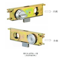 日本美和MIWA强化玻璃门锁型号U9TRU-1