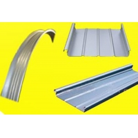 金属铝镁锰扇形金属屋面板