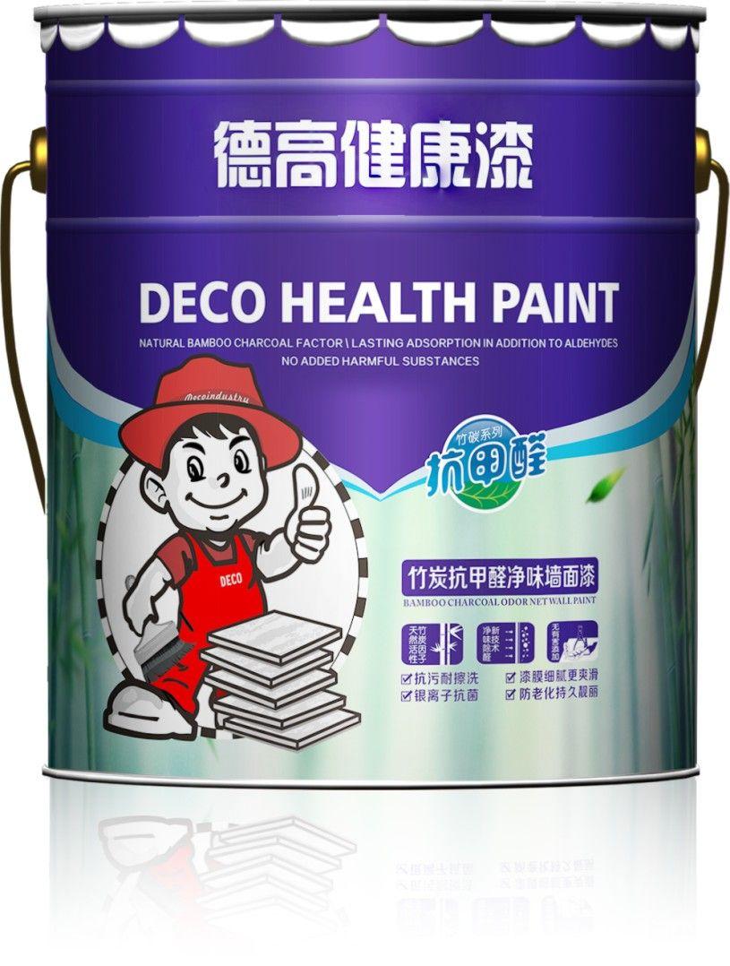 德高竹炭抗甲醛净味墙面漆图片