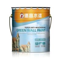 德高高耐候抗污硅丙外墙漆 德高防水涂料 乳胶漆  德高水漆