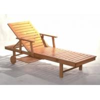 实木沙滩床/泳池床/沙滩躺椅