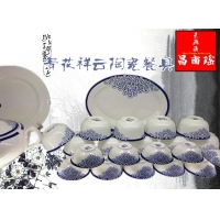 景德镇骨瓷高温手绘工艺餐具