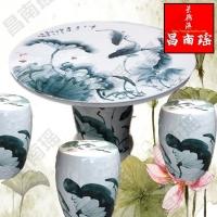 景德镇手绘工艺陶瓷桌凳