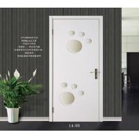 2014新款淼淼木门实木复合室内套装门烤漆门白漆平板门可爱卡