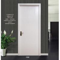 淼淼木门室内家庭套装门烤漆白色平板门