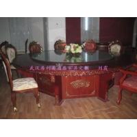 豪华酒店桌,电动餐桌,酒店豪华实木圆桌
