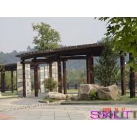 氟碳木纹园林建设系列(园艺构架)