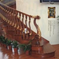 好美家家具-实木楼梯MF-012