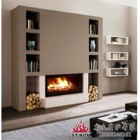 真火壁炉 铸铁壁炉 别墅现代欧式壁炉 壁炉设计