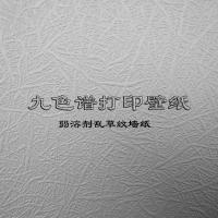 弱溶剂乱草纹打印墙纸/pvc个性大幅面写真壁纸布