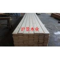 木质外墙桑拿板-实木外墙板平面挂板-外墙板沪景木业厂家批发价