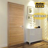 铝合金生态门 现代风格简约别墅隔音平开房间门