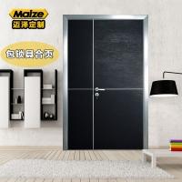 平开房间门整套门铝合金免漆门生态门