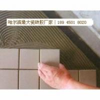 哈尔滨瓷砖胶 哈尔滨冠军陶瓷瓷砖胶 黑龙江瓷砖粘结剂